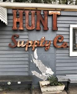 Hunt Supply mural wolf street art Nashville