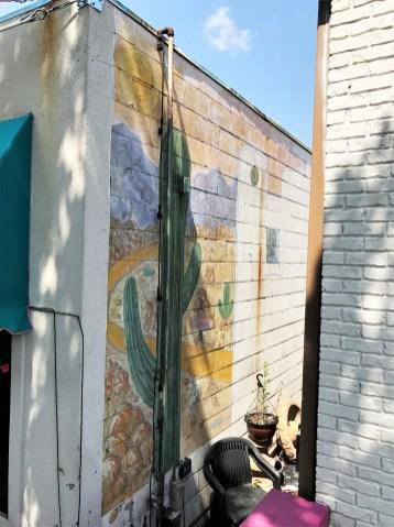 Baja cactus Mural street art Nashville