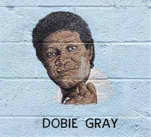 Dobie Gray mural street art Nashville