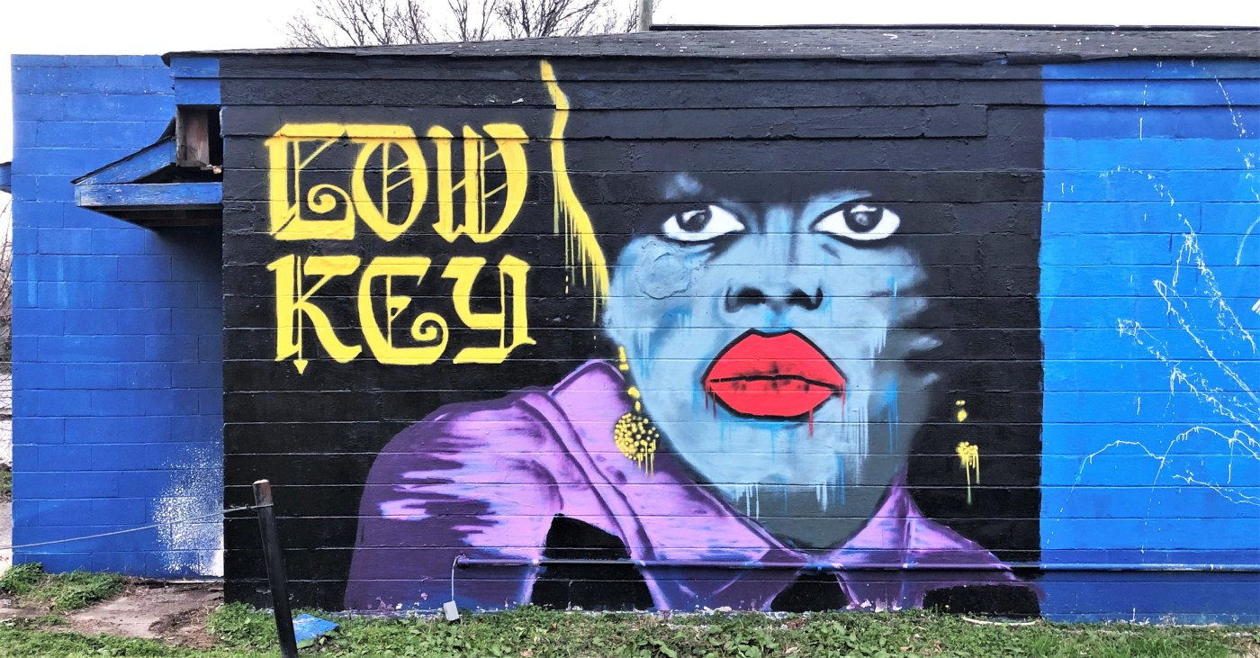 Jamerson Face Mural street art Nashville