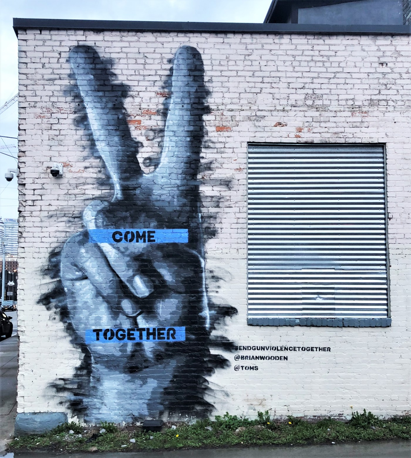 Come Together mural street art Nashville