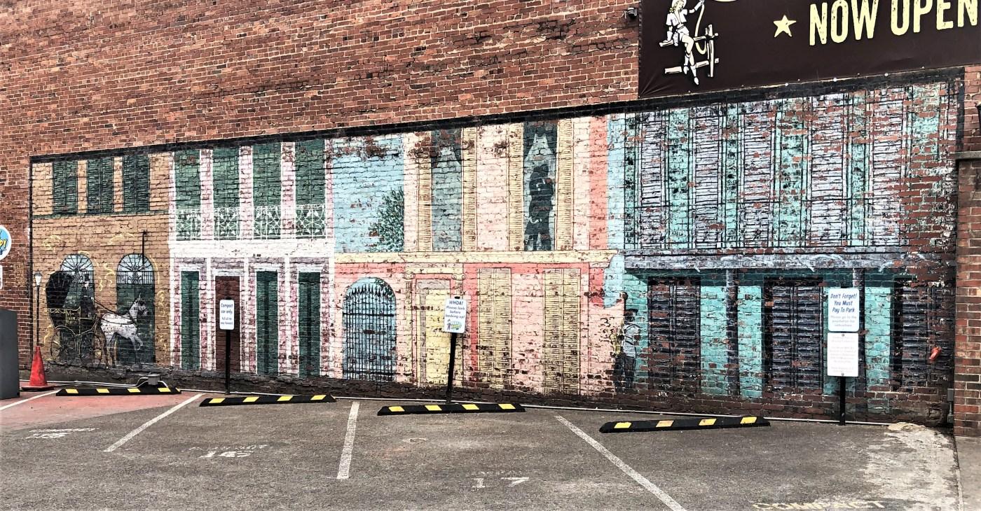 Nudies Mural street art Nashville