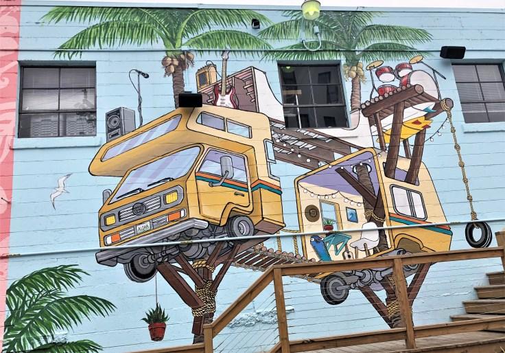 B1281 mural Nashville Street art