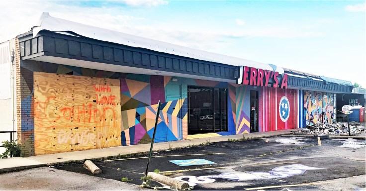 Jerry's Artarama Murals Nashville street art