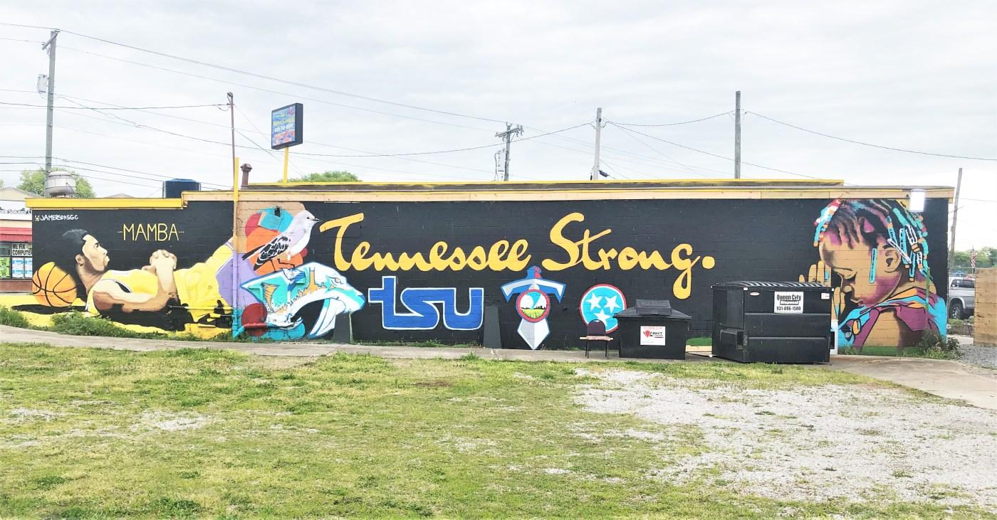 Kobe Tennessee Mural Nashville Street art