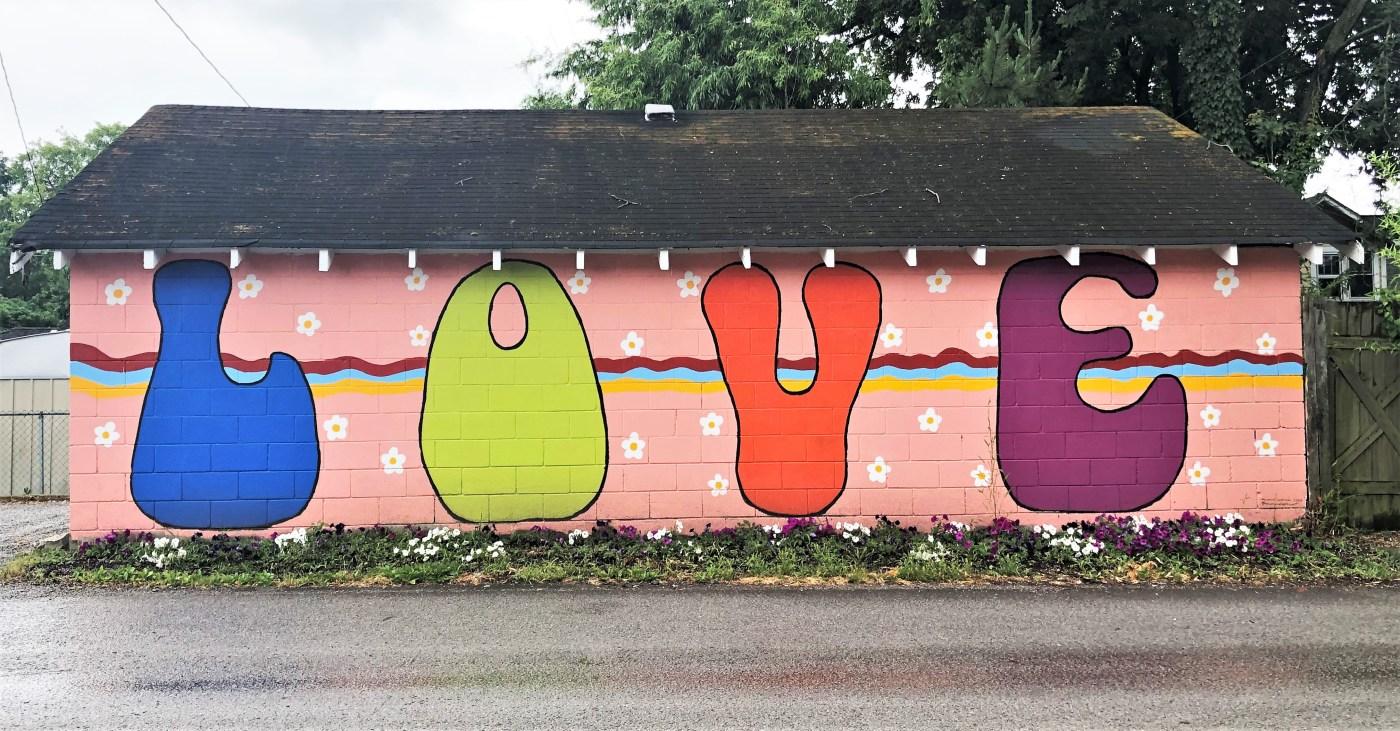 Love Mural Nashville street art