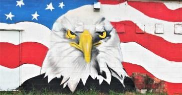 Flag Mural Nashville Street art