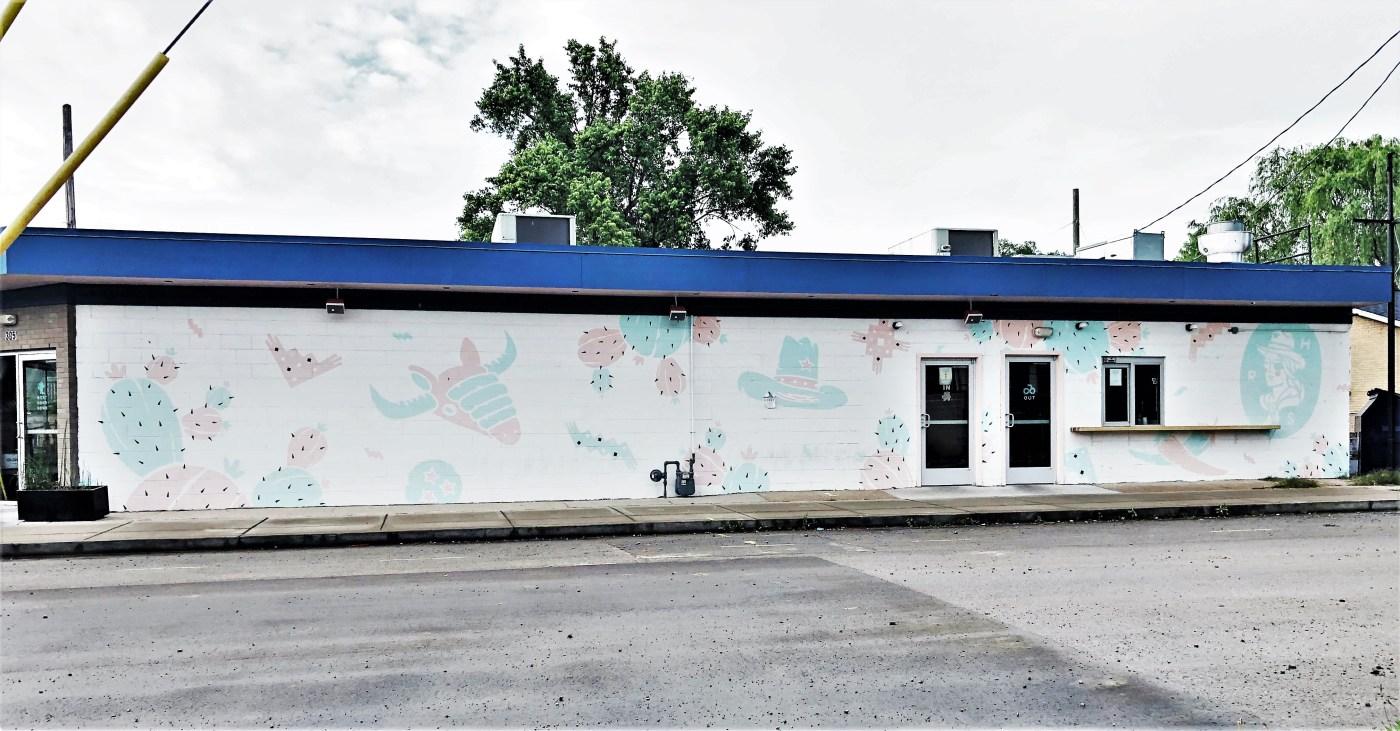 RedHeaded Mural Nashville street art