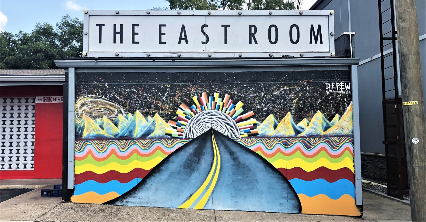 East Room mural Nashville street art