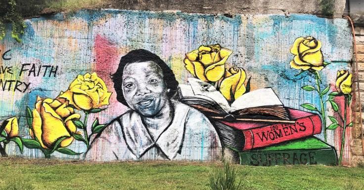 Frankie Pierce Mural Nashville street art