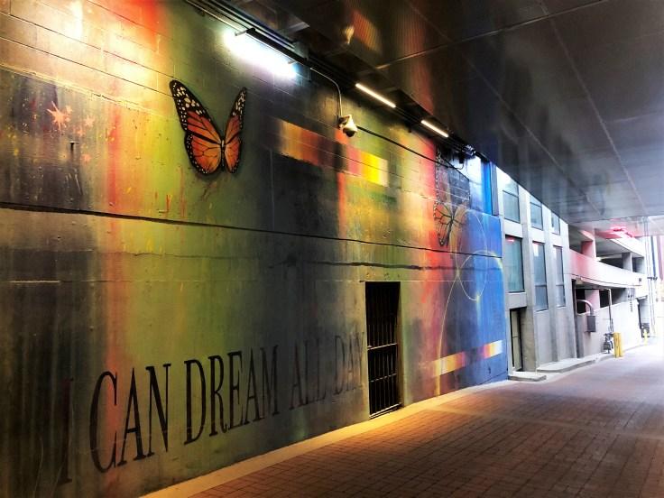 Butterflies Mural Nashville street art