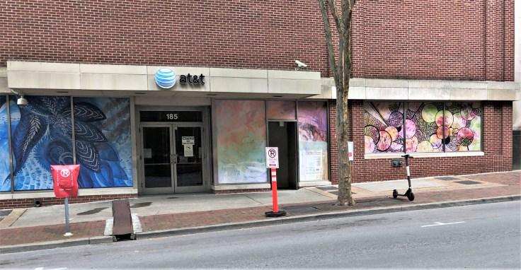 AT&T Murals Nashville street art