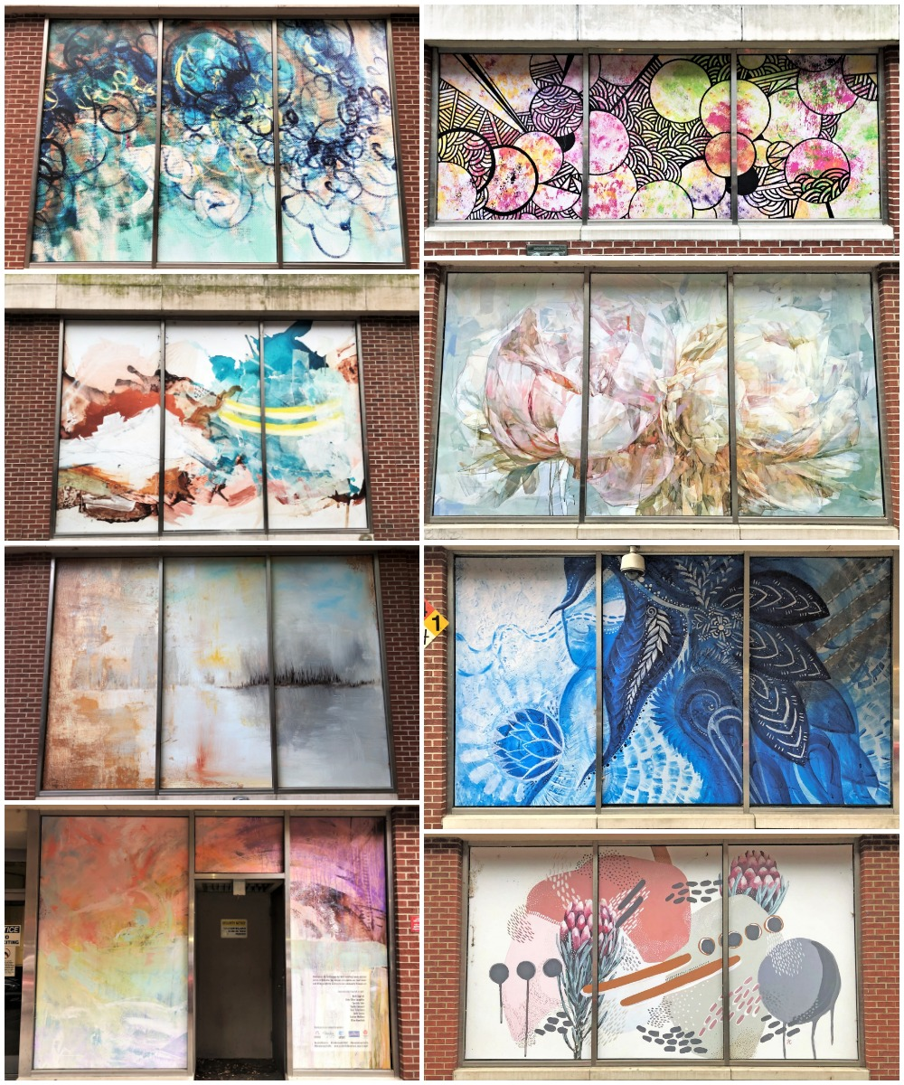 ATT Mural Collage Nashville street art