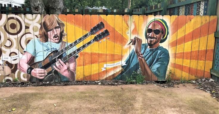Faces Mural Nashville Street art