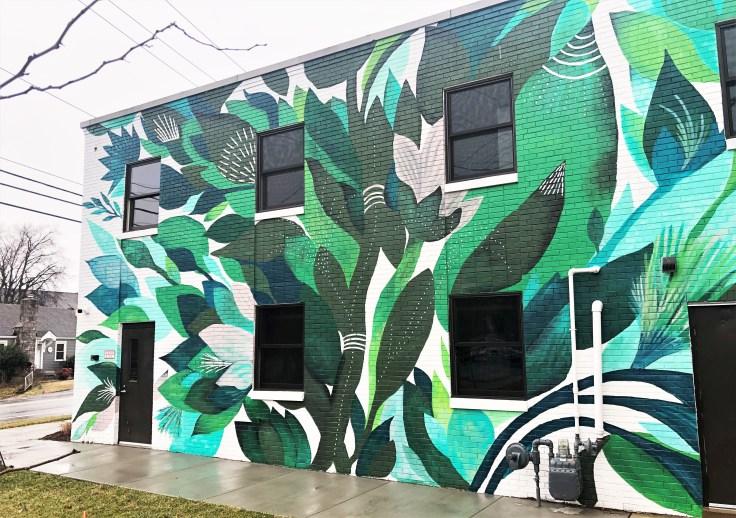 Riverside Revival Mural Nashville street art