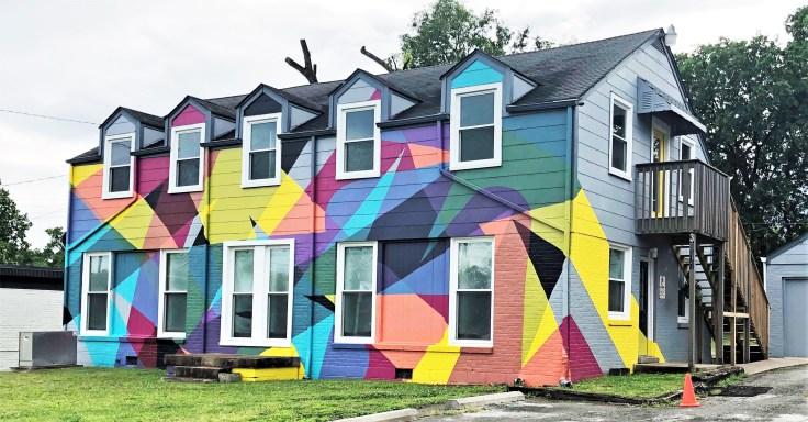 Gallatin House Mural Nashville street art