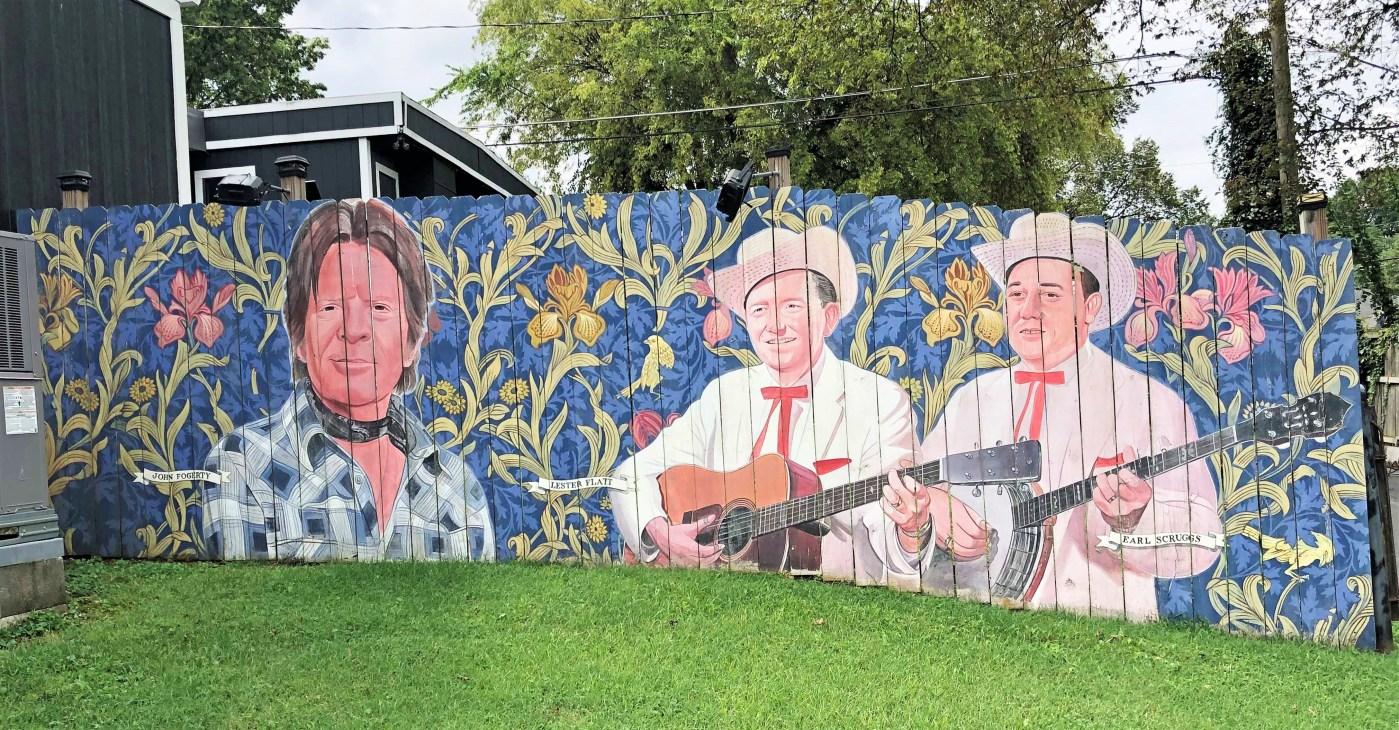 Berry Hill Faces Nashville street art