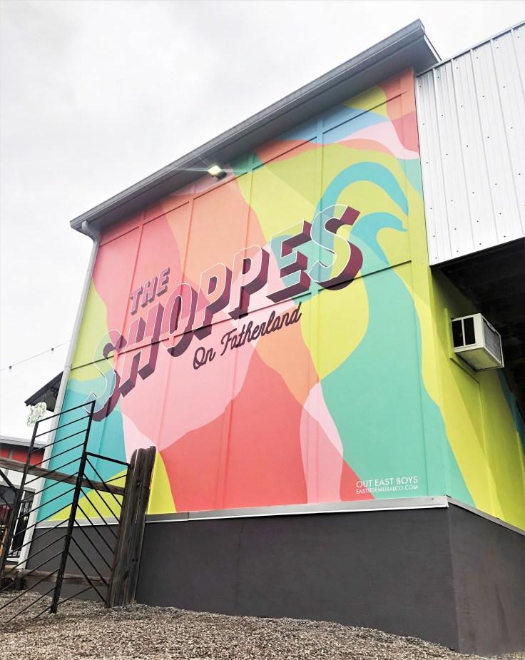 Shoppes Mural Nashville street art