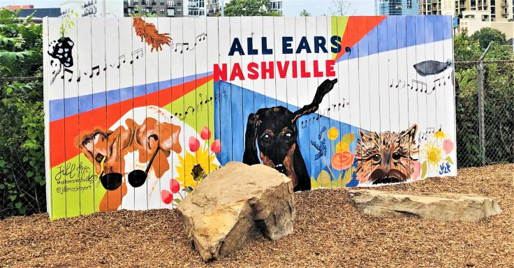 Gulch Dog Mural Nashville street art