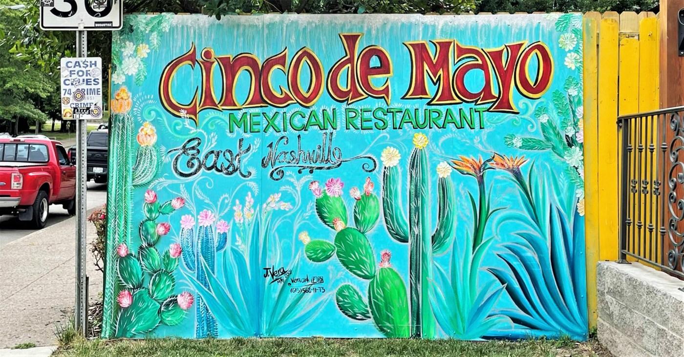 Cinco Mayo Mural Nashville street art