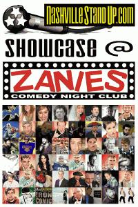 NashvilleStandUp Showcase at Zanies