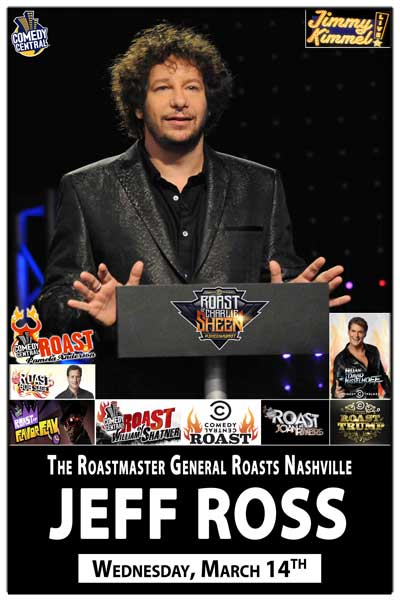 Jeff Ross Roasts Nashville March 14, 2012