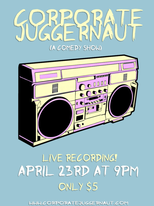 Corporate Juggernaut Live CD Recording