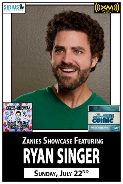 Ryan Singer @ Zanies