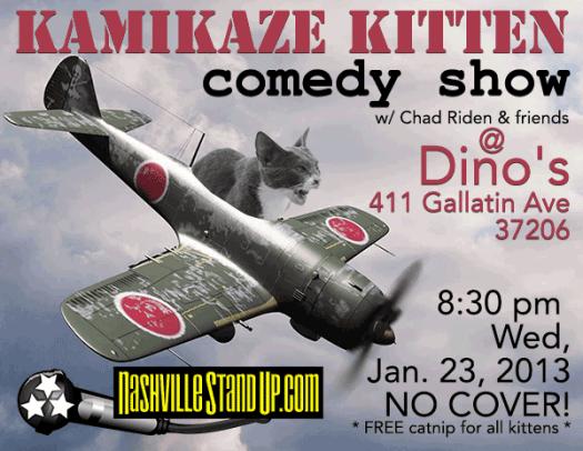 kamikize kitten comedy show