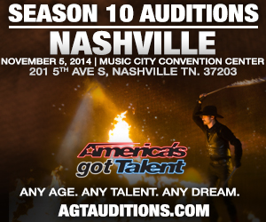 America's Got Talent auditions in Nashville 11/5/2014