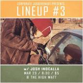Josh Inocalla at Lineup #3 comedy special taping at The High Watt - March 23, 2015