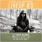 Josh Wagner at Lineup #3 comedy special taping at The High Watt - March 23, 2015