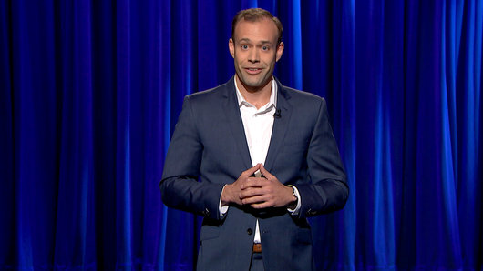 Keith Alberstadt on Late Night with Seth Meyers 4/9/2015