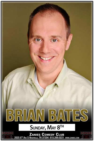 Brian Bates album recording at Zanies 5/8/2016.