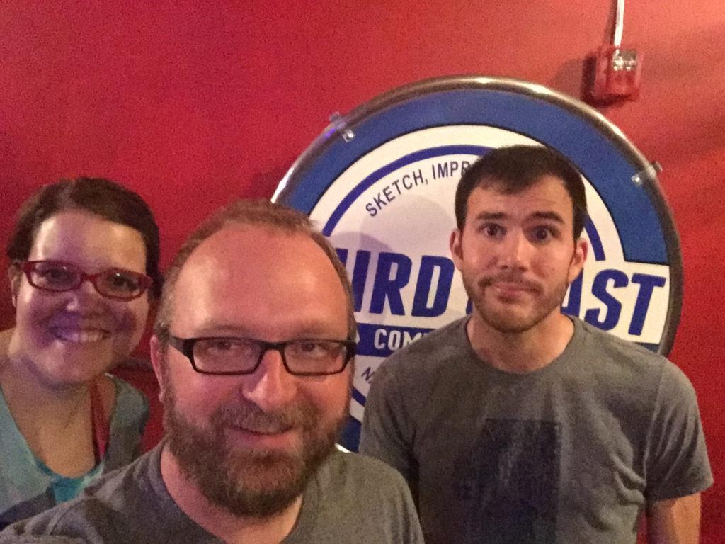 Mary Jay Berger, Chad Riden, Luke Watson at Third Coast Comedy Club 8/24/2016