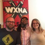 Chad Riden, Ngaio Bealum, Mary Jay Berger at WXNA 8/31/2016