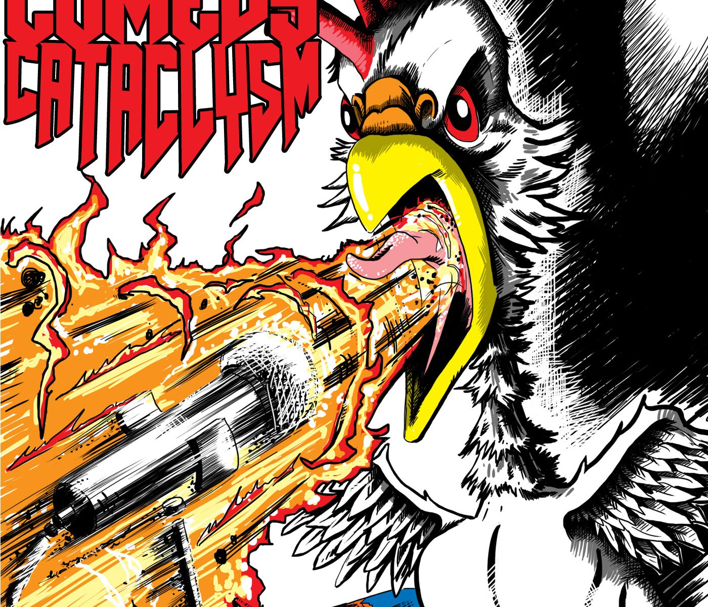 Comedy Cataclysm: comedians eat hot chicken then tell jokes