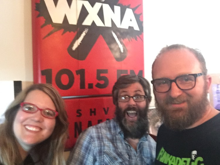 mary jay berger, brett brock, chad riden at wxna 10/5/2016