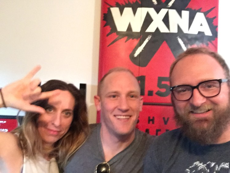 Erin Dewey Lennox, Billy Wayne Davis, Chad Riden at WXNA 10/12/2016