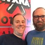Brian Bates and Chad Riden at WXNA 11/9/2016