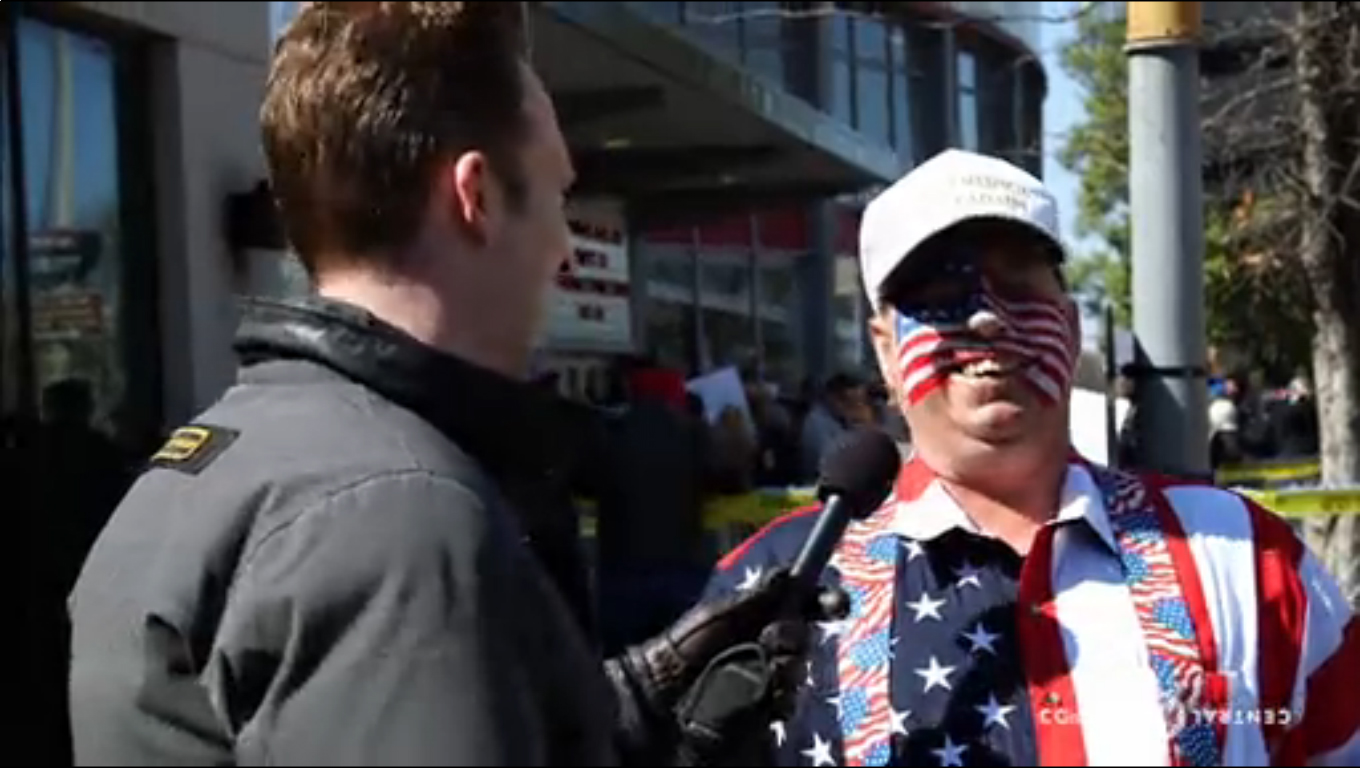 The Daily Show visits Donald Trump rally in Nashville 3/15/2017