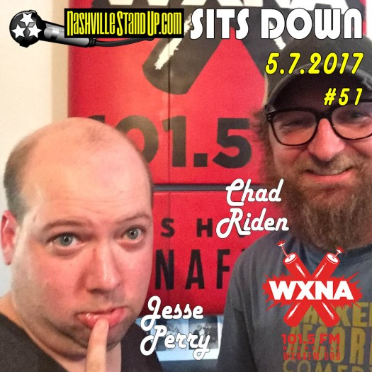 NSUPsitsDOWN #51 - 5/7/2017 with Jesse Perry and Chad Riden