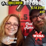 Jessica Carter & Chad Riden at WXNA 5/14/2017 for NSUPsitsDOWN #52 on WXNA