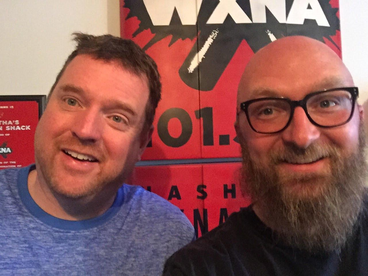 Mark Anundson, Chad Riden at WXNA 6/11/2017