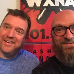 Mark Anundson, Chad Riden at WXNA 6/11/2017