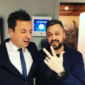 Nate Bargatze with Jimmy Fallon on The Tonight Show 4/5/2018