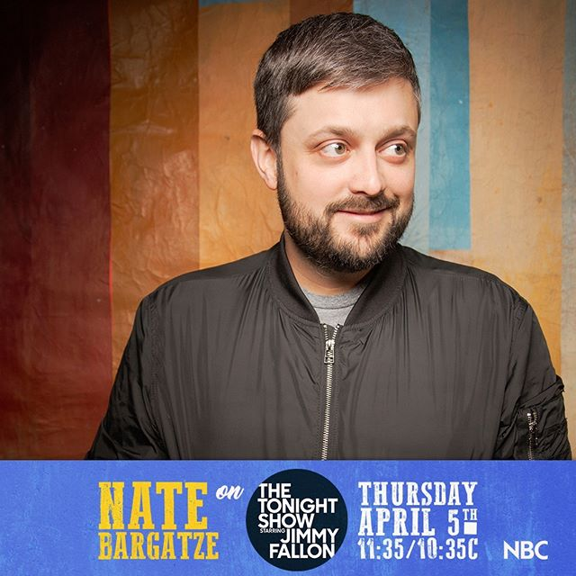 Nate Bargatze on The Tonight Show 4/5/2018