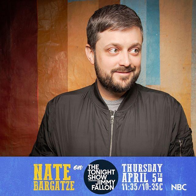 Nate Bargatze on The Tonight Show 4/5/2018