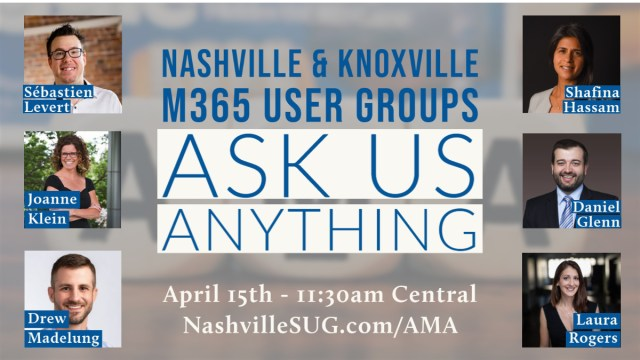 Ask Us Anything April 15 2021