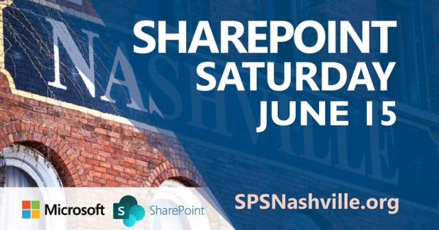SharePoint Saturday Nashville 2019